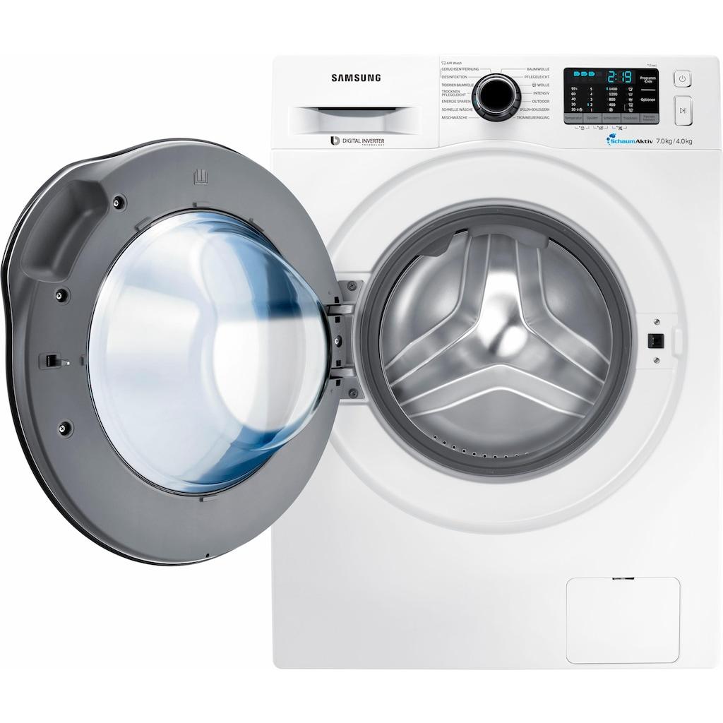 Samsung Waschtrockner »WD70J5A00AW«, WD5000, SchaumAktiv