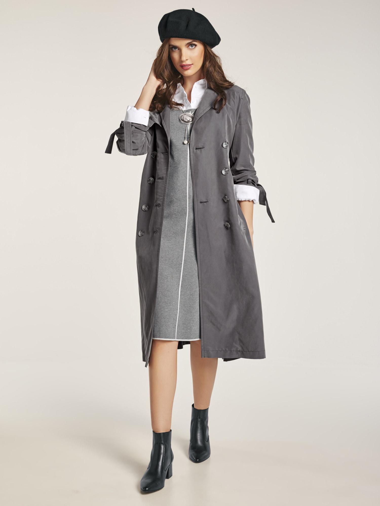 heine style -  Trenchcoat mit Bindegürtel