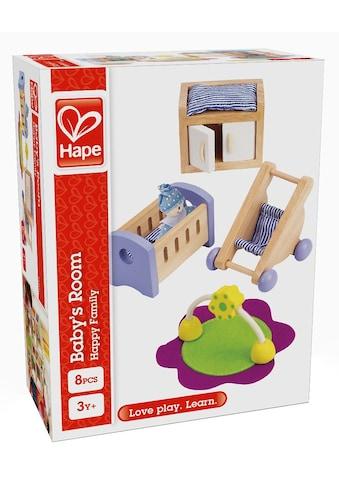 """Hape Puppenhausmöbel """"Babyzimmer"""", (Set, 8 - tlg.) kaufen"""