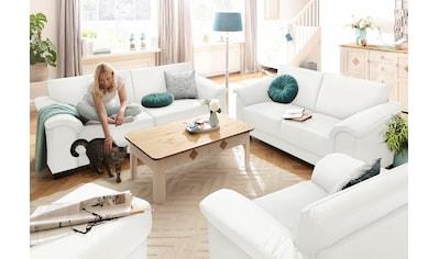 Home affaire Sitzgruppe »Anna«, (Set, 2 tlg.), 2-Sitzer und 3-Sitzer kaufen