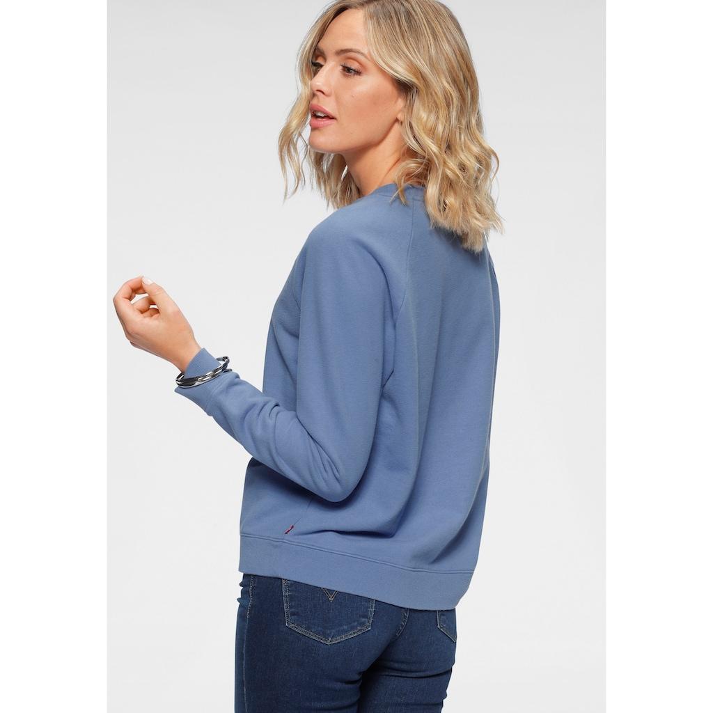 Levi's® Sweatshirt »Relaxed Graphic Crew«, mit Raglanärmeln und Logo-Druck