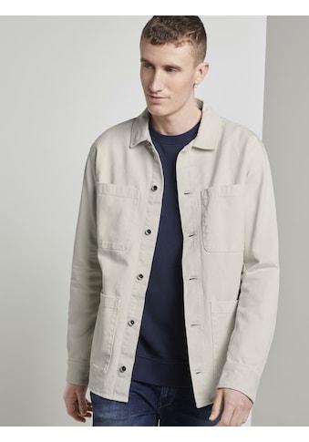 TOM TAILOR Denim Cargojacke »Jacke im Hemdstil« kaufen