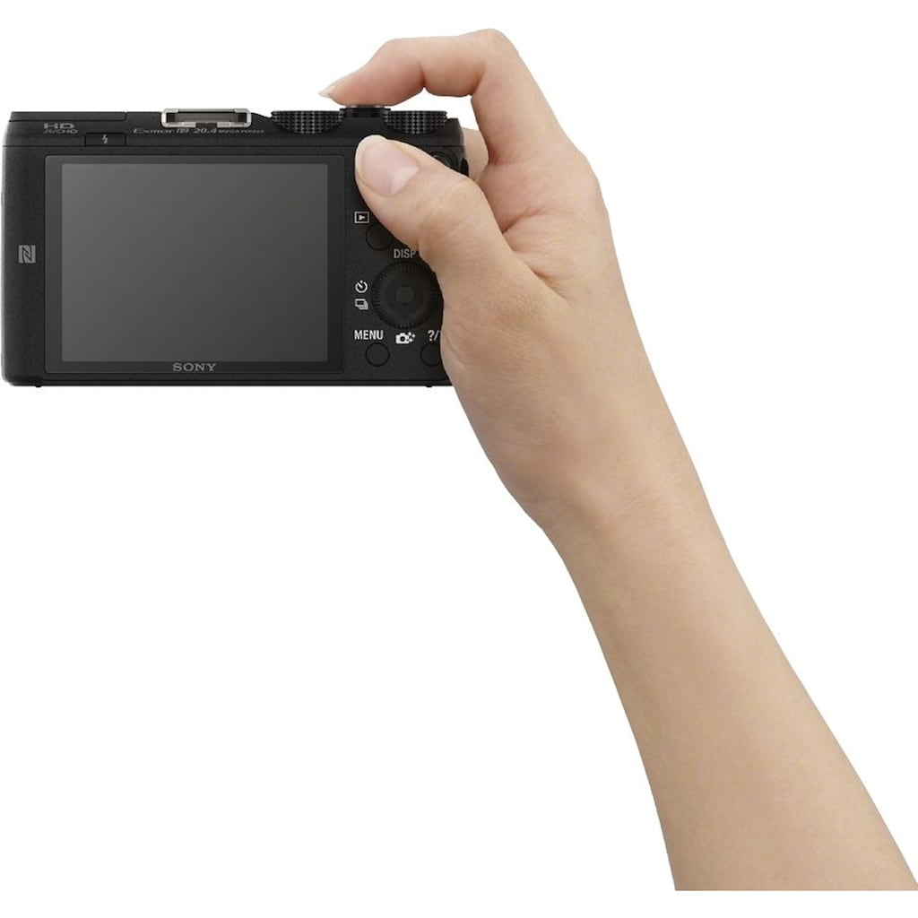 Sony »Cyber-Shot DSC-HX60B« Superzoom-Kamera (24mm Sony G, 20,4 MP, 30x opt. Zoom, WLAN (Wi-Fi))