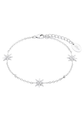 s.Oliver Silberarmband »Polarsterne, 2028520«, mit Zirkonia kaufen