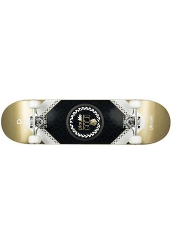 Playlife Skateboard »Heavy Metal Gold« kaufen