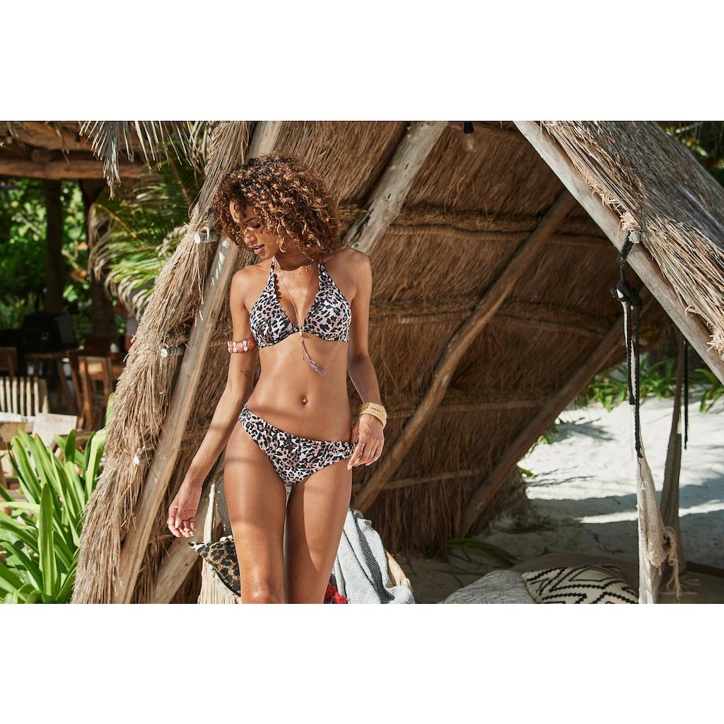 LASCANA Bügel-Bikini-Top »Lexa«, mit Muschelkante