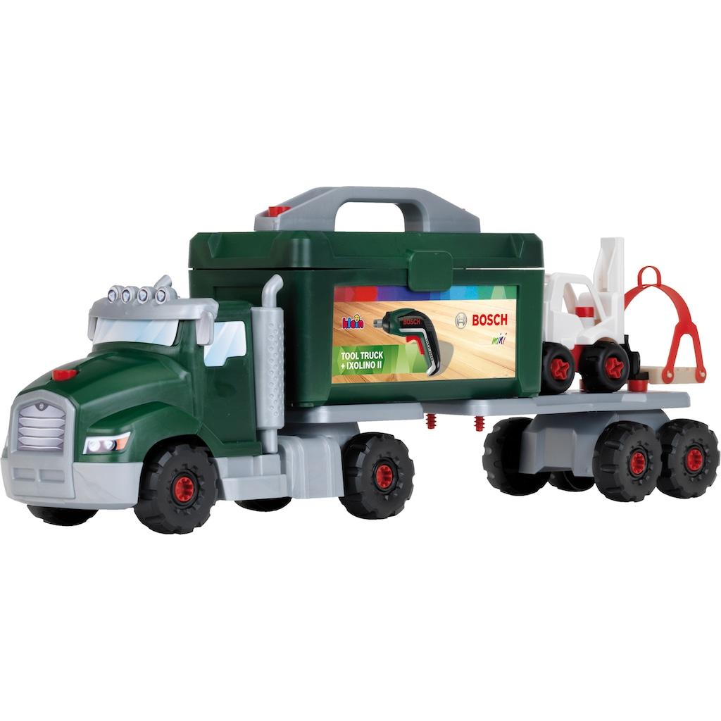 Klein Spielzeug-LKW »Bosch Power-Tools Schraubtruck Set«, mit abnehmbarer Werkzeugbox