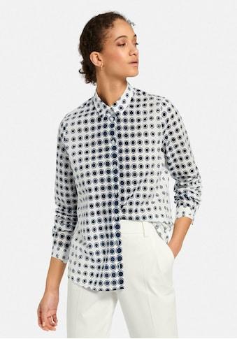 Peter Hahn Langarmbluse »Bluse mit kleinem Kragen« kaufen