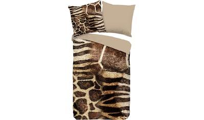 PURE luxury collection Wendebettwäsche »Kinga«, mit Tierprint kaufen