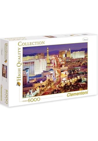 """Clementoni® Puzzle """"Las Vegas"""" kaufen"""