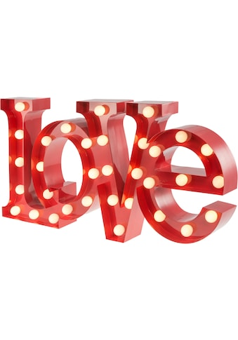 MARQUEE LIGHTS LED Dekolicht »Love Schriftzug«, 1 St., Warmweiß, Wandlampe, Tischlampe... kaufen