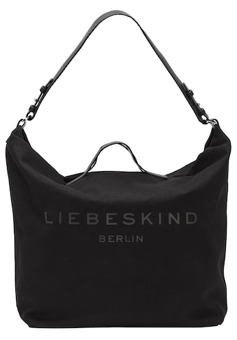 Liebeskind Berlin Hobo »Clea Hobo L«, mit großflächigem Schriftzug kaufen