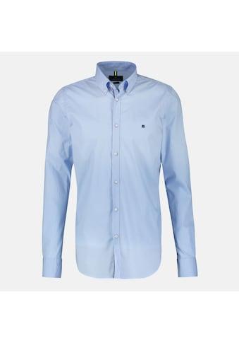 LERROS Langarmhemd, unifarben, mit Button-Down-Kragen kaufen