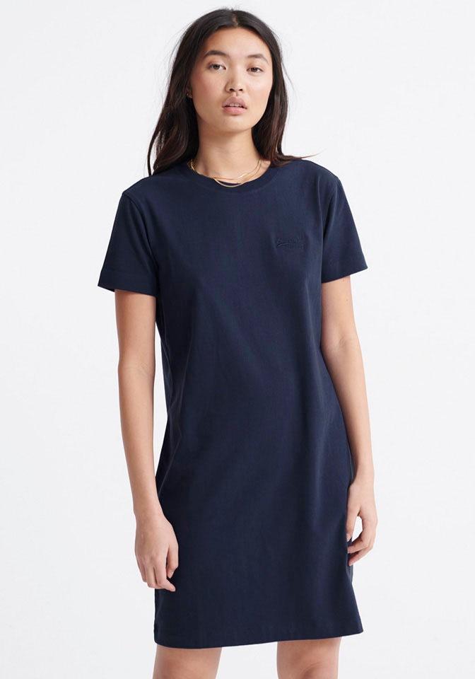 Superdry Shirtkleid OL T-SHIRT DRESS Damenmode/Bekleidung/Kleider/Shirtkleider