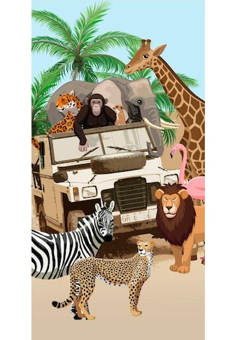 "Strandtuch ""Jeep Jungle"", good morning kaufen"