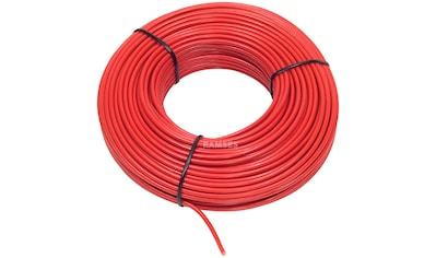 RAMSES Fahrzeugleitung , Rot 6 mm² 50 Meter kaufen