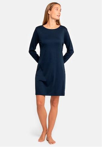 seidensticker Nachthemd, mit Kontrastpaspel an Ärmelmanschetten kaufen