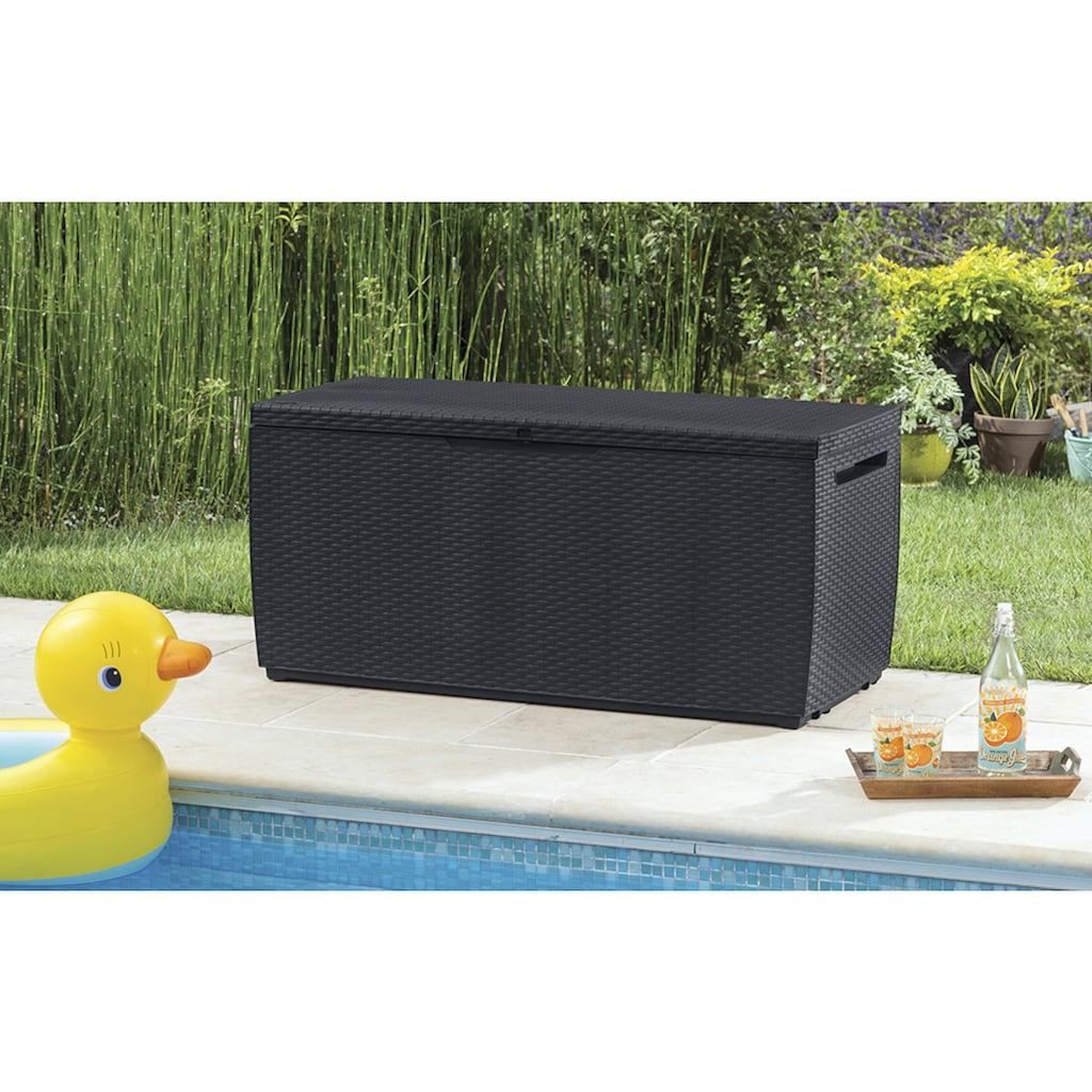 ONDIS24 Kissenbox »Capri«, Kissenbox aus Kunststoff, 302 Liter, UV-beständig