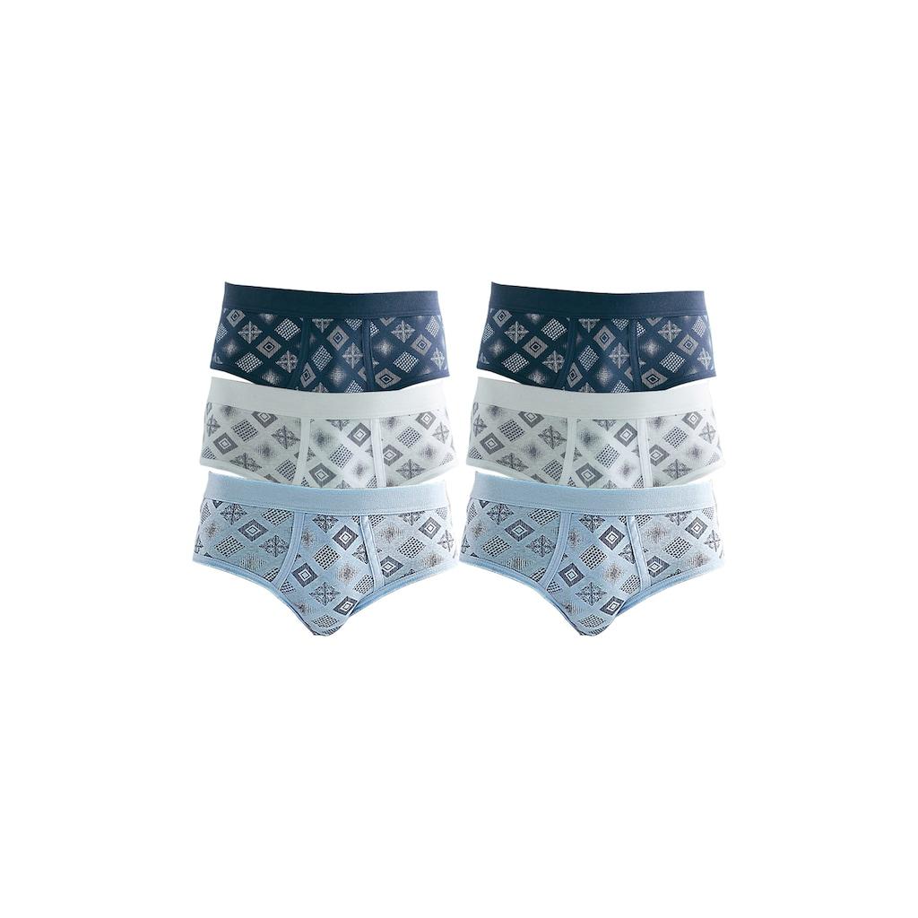 Clipper Slip, mit Eingriff, schöne Feinripp-Qualität aus reiner Baumwolle