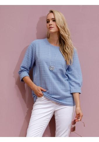 MIAMODA Sweatshirt, aus strukturierter Qualität kaufen