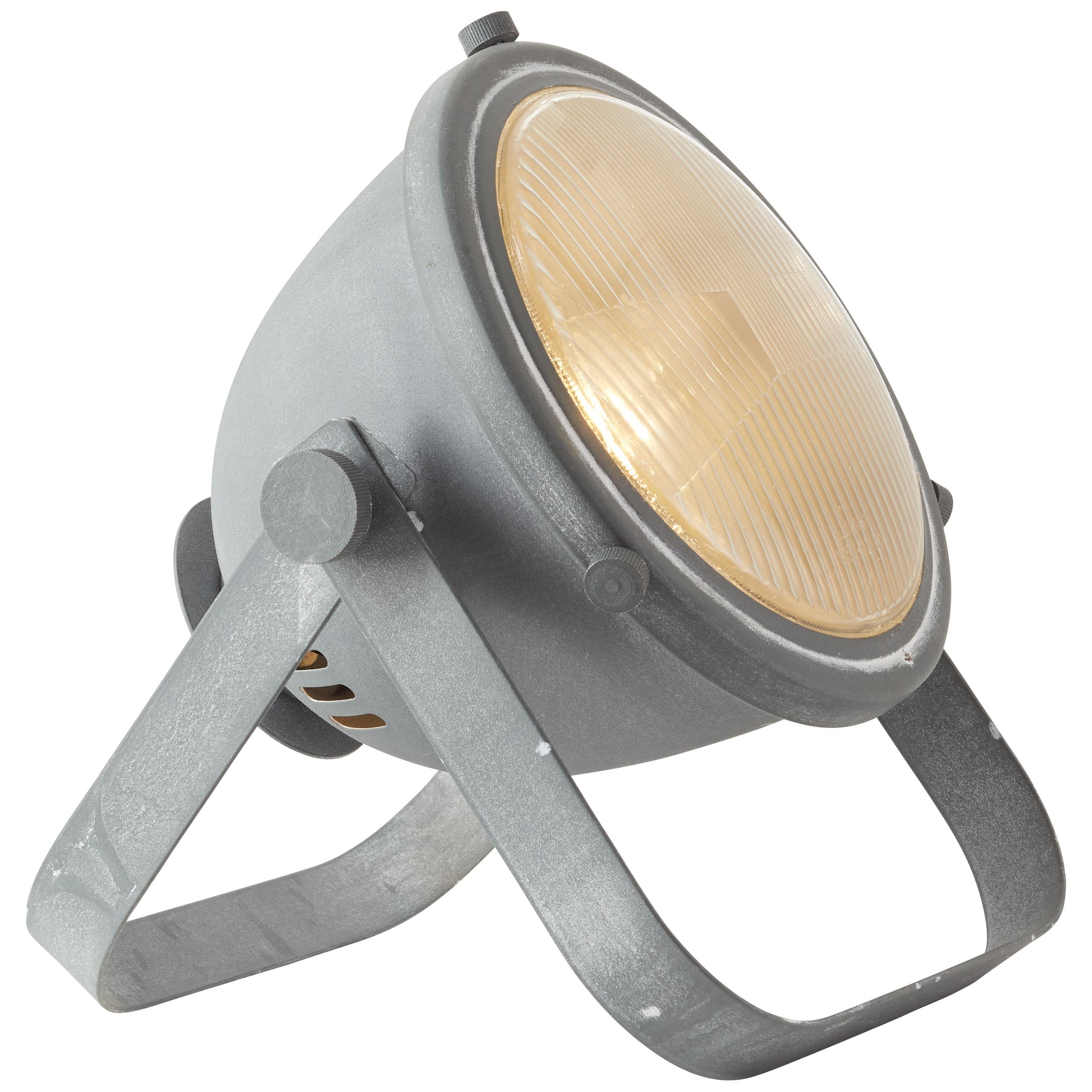 Brilliant Leuchten Bo Tischleuchte Glas grau Beton