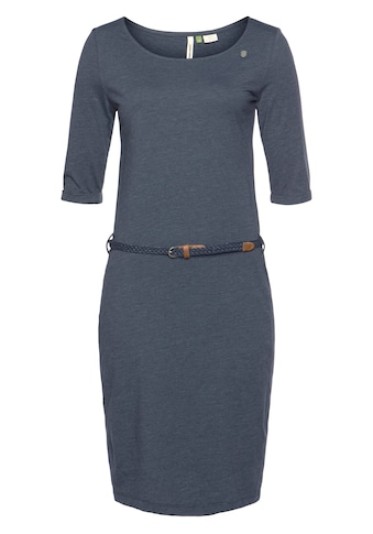 Ragwear Shirtkleid »TAMILA ORGANIC«, (2 tlg., mit abnehmbarem Gürtel), mit Melange Effekt kaufen
