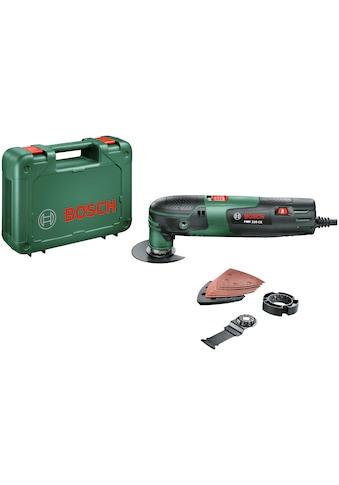 BOSCH Elektro-Multifunktionswerkzeug »PMF 220 CE«, inkl. Zubehör und Kunststoffkoffer kaufen