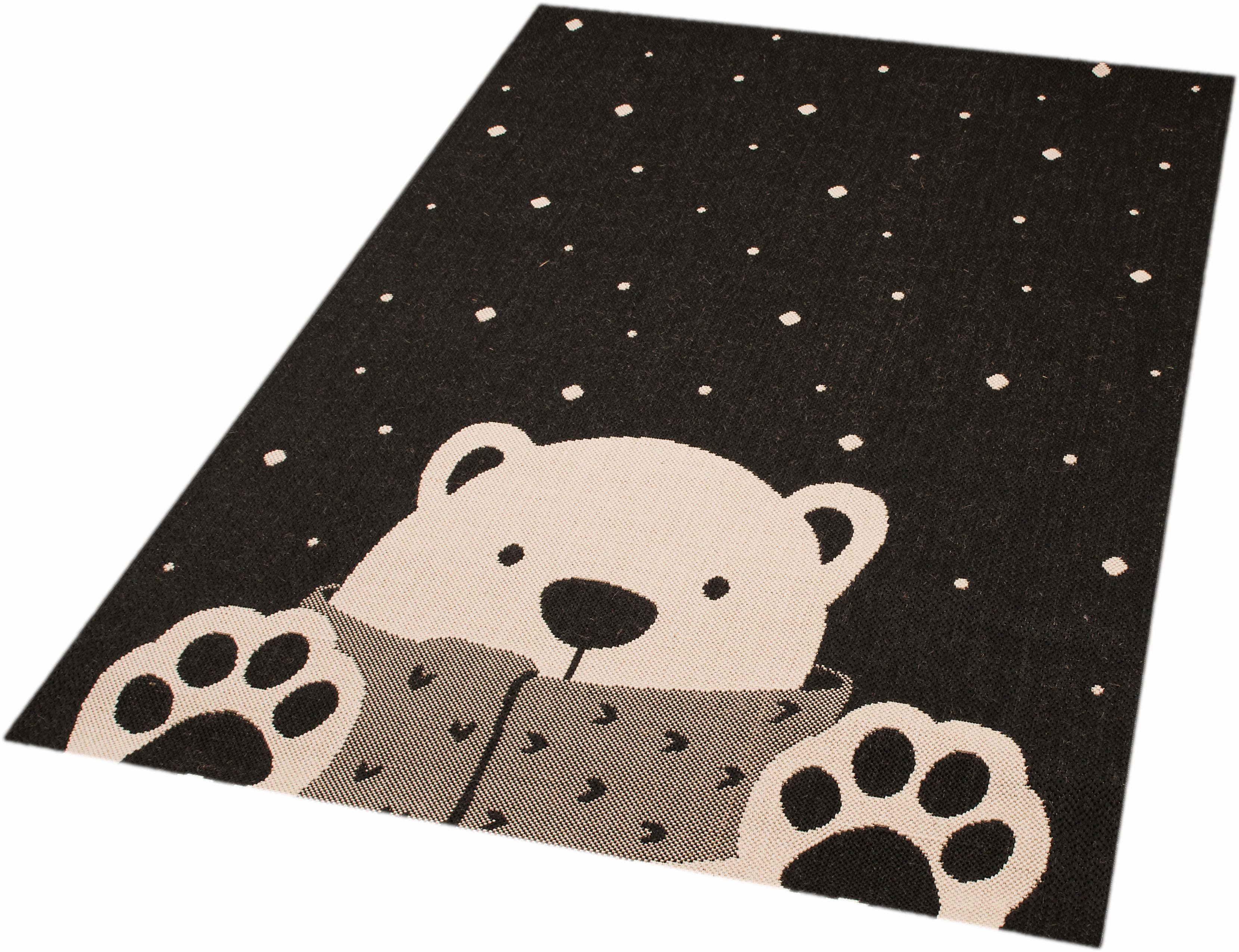 Kinderteppich Icebear Stan Zala Living rechteckig Höhe 4 mm maschinell gewebt