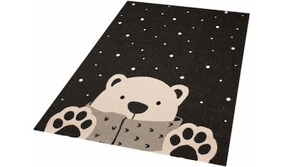 Kinderteppich, »Icebear Stan«, Zala Living, rechteckig, Höhe 4 mm, maschinell gewebt kaufen
