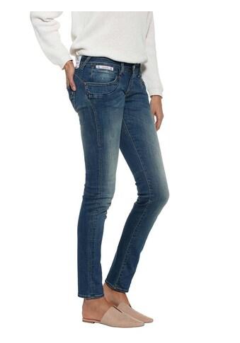 Herrlicher Slim-Fit-Jeans mit modischer Waschung kaufen