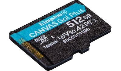 Kingston »Canvas Go! Plus microSDXC« Speicherkarte (Lesegeschwindigkeit maximal 170 MB/s) kaufen