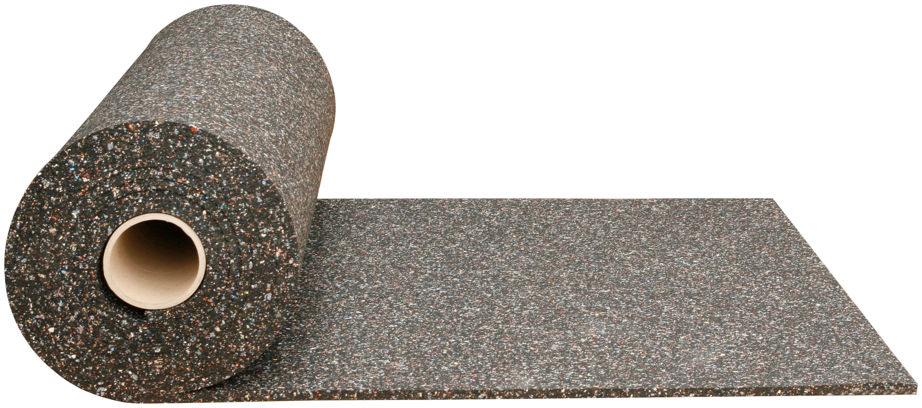 SZ METALL Gummimatte, zur Dämpfung, 200x125 cm (LxB) schwarz Gummimatte Metall