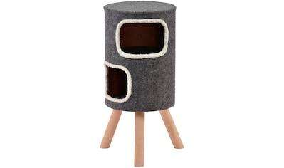 SILVIO design Tierbett »Doubly«, Katzenhoehle, BxLxH: 35x35x74 cm kaufen