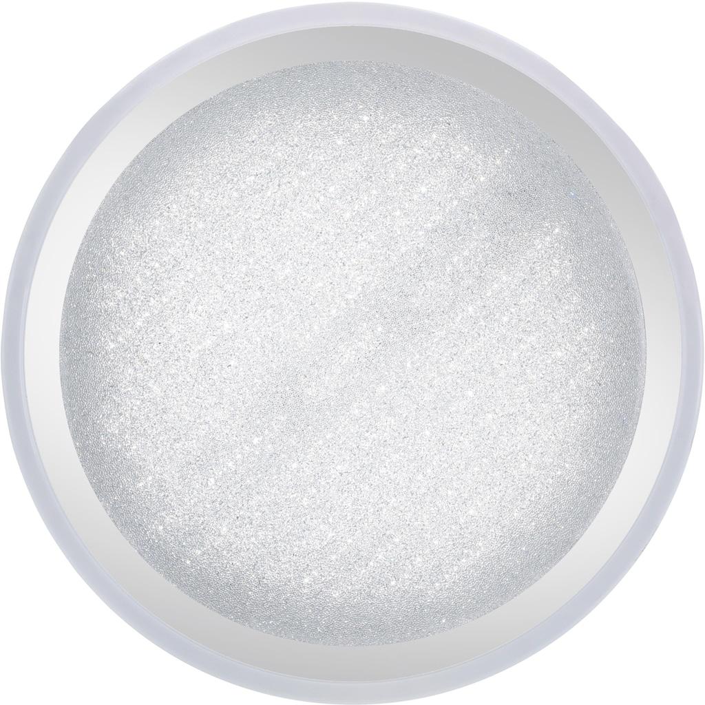 Leuchten Direkt Deckenleuchte »MEDINA«, LED-Board, Warmweiß-Neutralweiß-Tageslichtweiß, CCT - Farbtemperaturregelung (verstellbar von 3000-5000K) Dimmbar über Fernbedienung Serienschalter Memoryfunktion Sternenhimmeloptik, Ø 60 cm