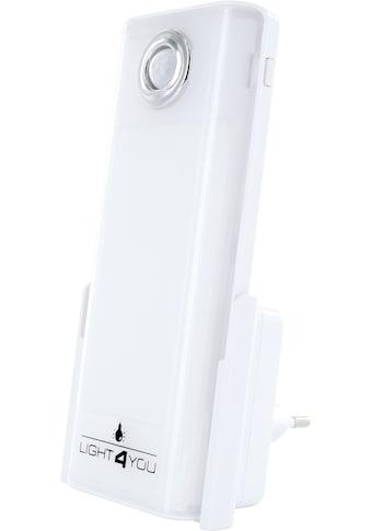 Schwaiger LED Nachtlicht, Notfalllicht, Taschenlampe mit Bewegungssensor »für die Steckdose« kaufen