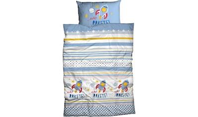 Kinderbettwäsche »Echt Rakete«, ADELHEID kaufen