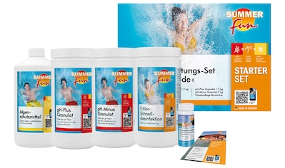 SUMMER FUN : Wasserpflegeset »Starterset Chlor Maxipack«, 6 - tlg. kaufen