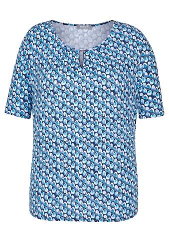 Rabe T - Shirt mit Tropfenmuster und Spangendetail kaufen