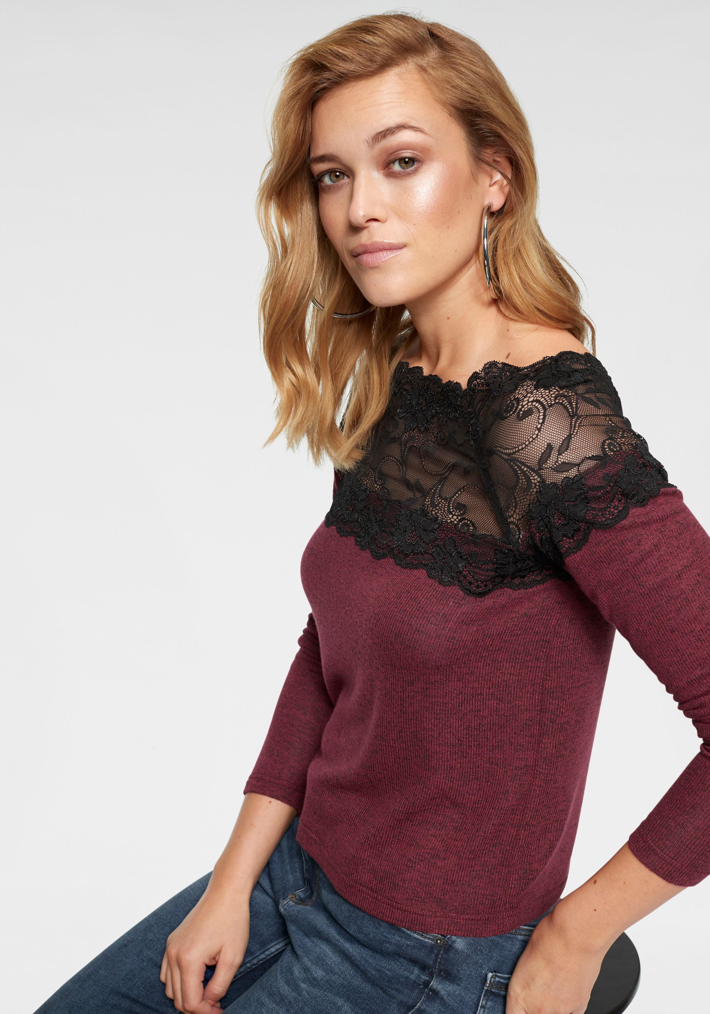 Vero Moda Carmenpullover VMCIMA   Bekleidung > Pullover > Carmenpullover   Rot   Vero Moda