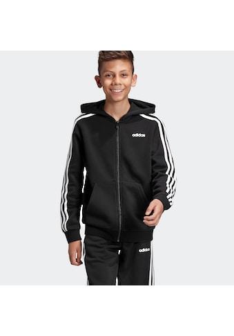 adidas Performance Sweatjacke »ESSENTIALS 3 - STREIFEN KAPUZENJACKE« kaufen