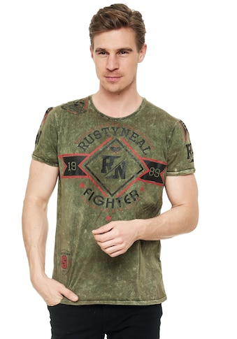 Rusty Neal T-Shirt, mit stylischem Print kaufen