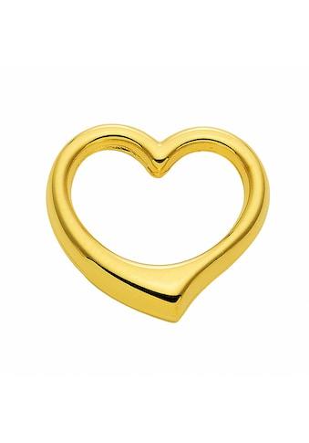 Adelia´s Kette mit Anhänger »585 Gold Anhänger Swingheart - Set mit Halskette«, 585... kaufen