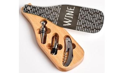 Zeller Present Weinflaschenöffner, (Set), 4-teilig kaufen