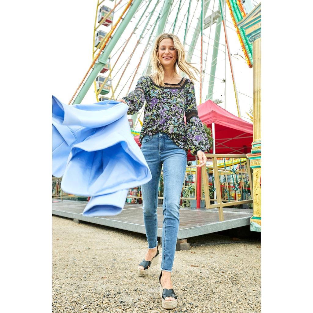 Aniston CASUAL Tunika, mit Spitze verziert - NEUE KOLLEKTION