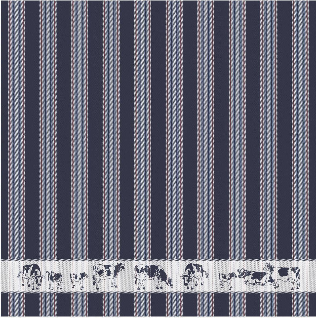 DDDDD Geschirrtuch Friesian, (Set, 6 tlg.) blau Geschirrtücher Küchenhelfer Haushaltswaren