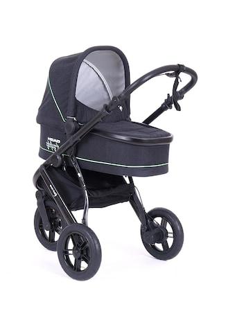 Knorrbaby Jogger-Kinderwagen »HeadSport 3, darkgrey-green«, Kinderwagen, Jogger,... kaufen