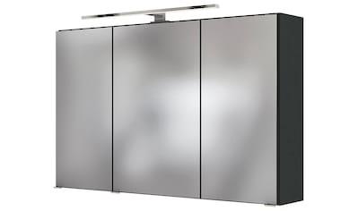 HELD MÖBEL Spiegelschrank »Baabe«, Breite 100 cm, mit 3D-Effekt, dank 3 Spiegeltüren kaufen