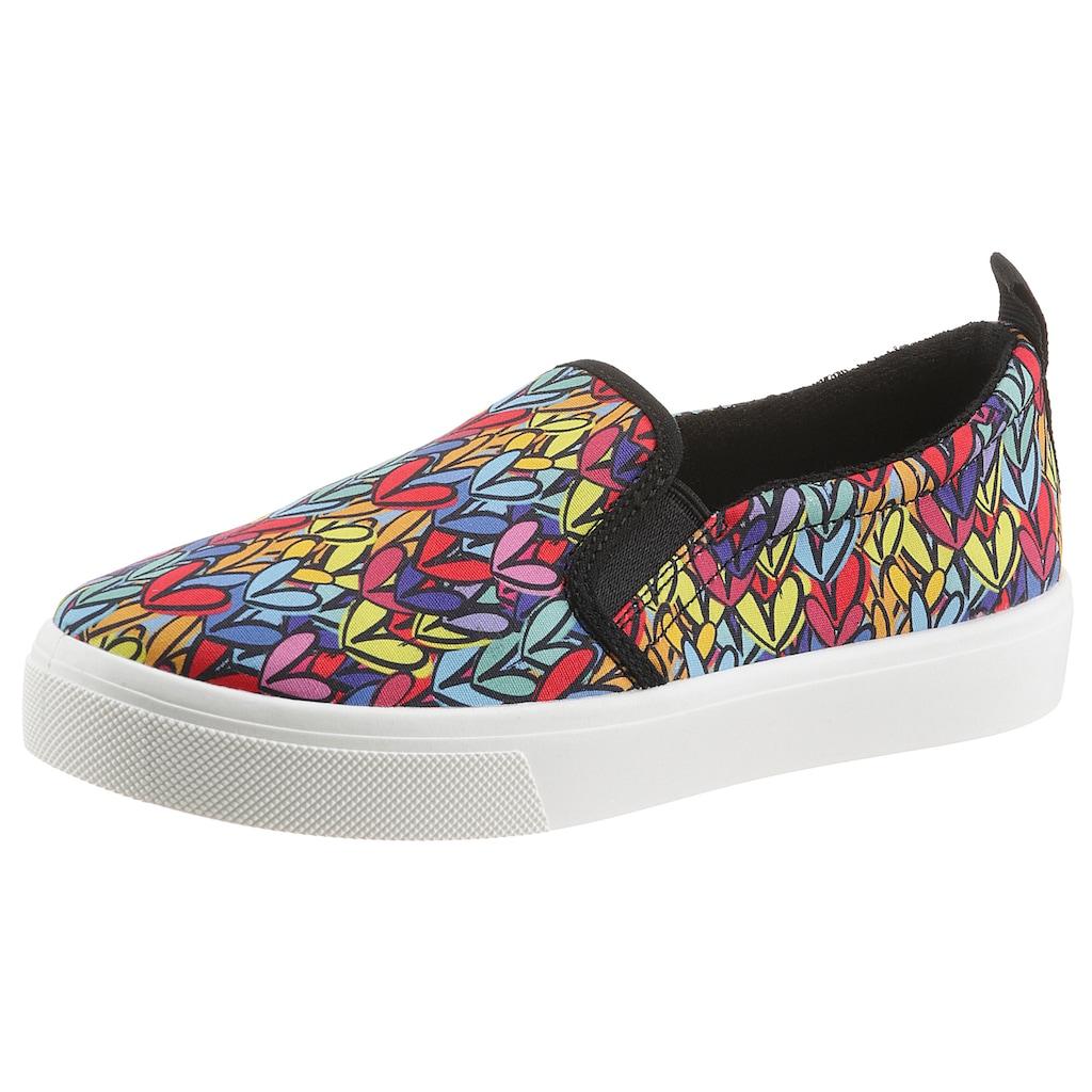 Skechers Slip-On Sneaker »POPPY - HEART IN LOVE«, mit Allover-Print