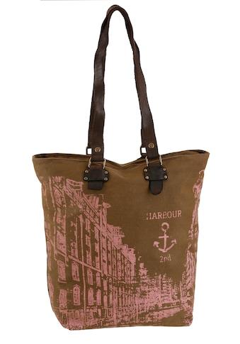 HARBOUR 2nd Shopper »Pauli«, mit Lederhenkel kaufen