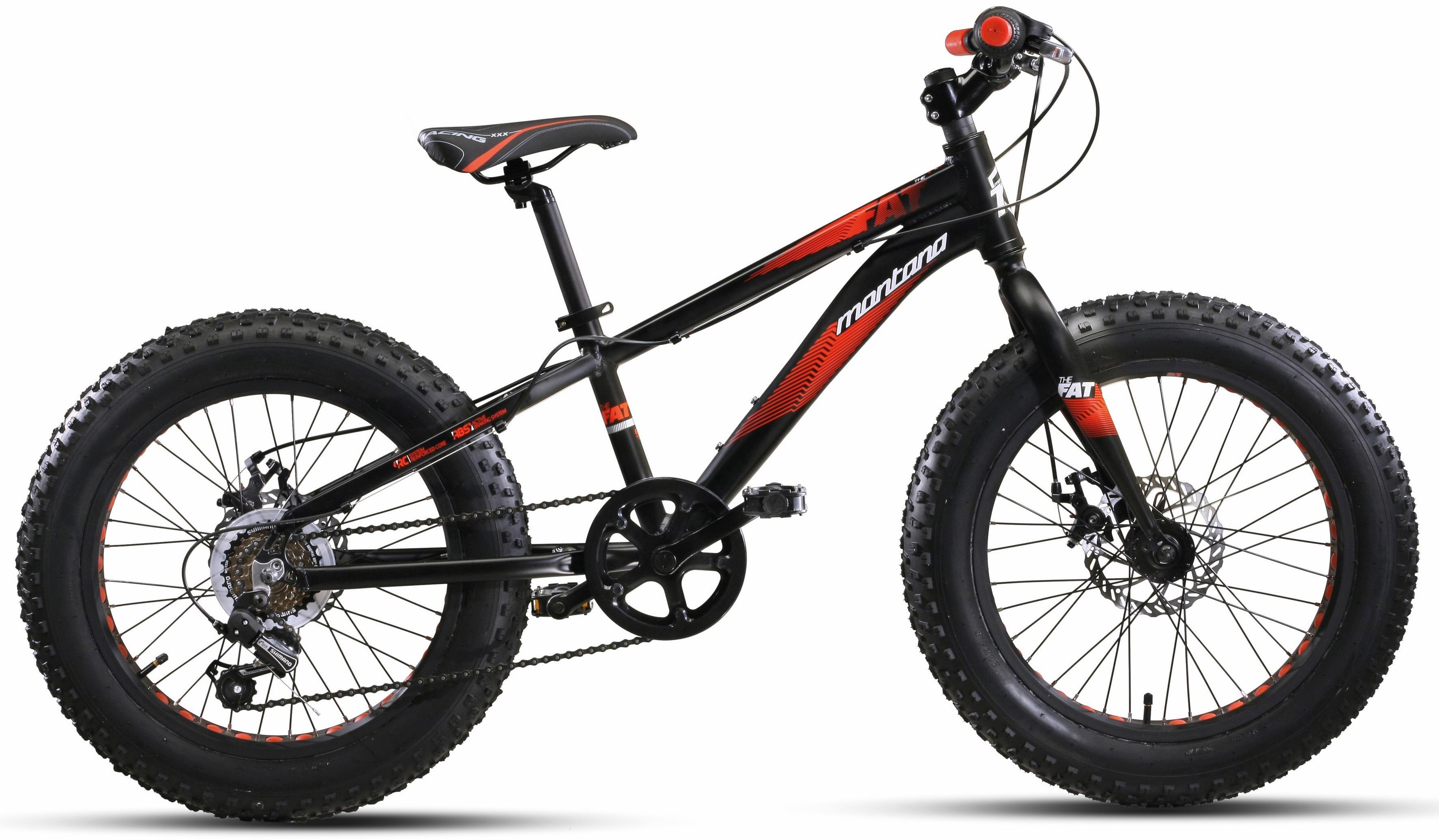 Montana Fahrräder Fatbike  20´´ FAT , 6 Gang Shimano TY-21 Schaltwerk, Kettenschaltung Preisvergleich